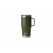 Rambler 20 Oz Travel Mug With Stronghold Lid - Highlands Olive