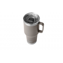 Rambler 887 ml Travel Mug with StrongHold Lid - Sharptail Taupe