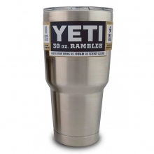 YETI 30oz Stainless Steel Vacuum Insulated Rambler w/ Lid by Yeti Coolers in Iowa City Ia