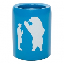 Beer with Bear Can Insulator by Yeti Coolers