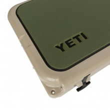YETI Tundra 75 SeaDek: Dble Ply: Olive Green/Black by Yeti Coolers in Sandy Ut
