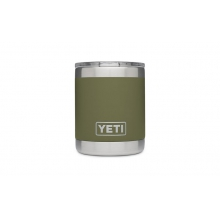 Rambler 10oz Lowball Olive Green by YETI in Glenwood Springs CO