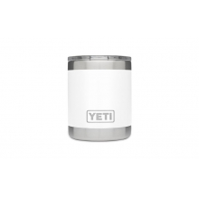 Rambler 10oz Lowball White by YETI in Bentonville Ar