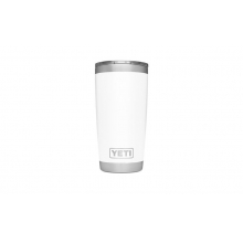 Rambler 20oz Tumbler w/MagSlider White by YETI in Glenwood Springs CO