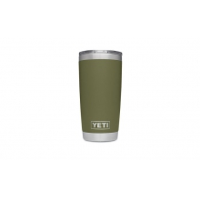 Rambler 20oz Tumbler w/MagSlider Olive Green by YETI in Glenwood Springs CO