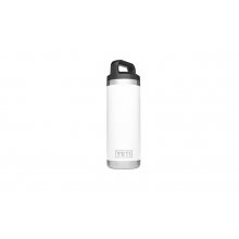 Rambler 18oz Bottle White by YETI in Bentonville Ar