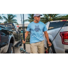 Horn, Fin, & Feather Short Sleeve T-Shirt by Yeti Coolers