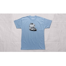 Adventure Vehicle Short Sleeve Shirt Carolina Blue M