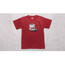 Adventure Vehicle Short Sleeve Shirt Brick Red S