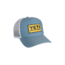 Deep Fit Foam Patch Trucker Hat Chambray by YETI