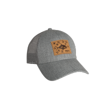 Permit In Mangroves Patch Trucker Hat Gray