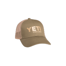 Trucker Hat Olive Green by YETI in Boulder CO
