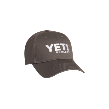 Full Panel Low Pro Hat Gunmetal Gray with White by YETI