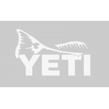 YETI Sportsman's Decal - Red Fish Tail