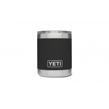 Rambler 10oz Lowball Black by YETI in Grand Blanc MI