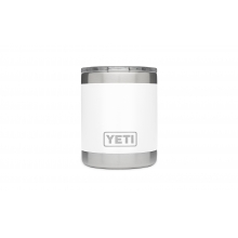 Rambler 10Oz Lowball White by YETI