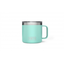 Rambler 14oz Mug Seafoam by YETI in Golden Co