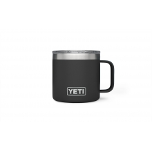 Rambler 14oz Mug Black by YETI in Avon Co