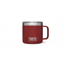 Rambler 14oz Mug Brick Red by YETI in Marina Ca