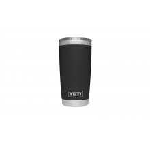 Rambler 20oz Tumbler w/MagSlider Black by YETI in Carbondale CO
