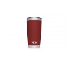 Rambler 20oz Tumbler w/MagSlider Brick Red by YETI in Marina Ca
