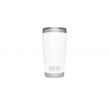 Rambler 20oz Tumbler w/MagSlider White by YETI in Grand Blanc MI