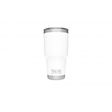Rambler 30oz Tumbler w/MagSlider White by YETI in Wilton Ct