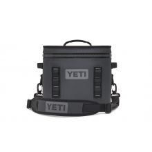 YETI Hopper Flip 12 Fog Gray / Tahoe Blue by YETI in Colorado Springs Co