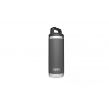 YETI Rambler Bottle - 18 oz - Charcoal