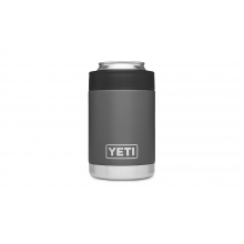 YETI Rambler Colster - 12 oz - Charcoal by YETI in Bentonville Ar