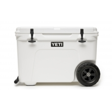 Tundra Haul Cooler with Wheels - White
