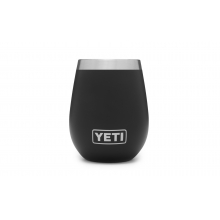 Rambler 10oz Wine Tumbler Black by YETI in Grand Blanc MI
