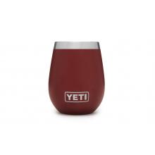 YETI Rambler 10oz Wine Tumbler Brick Red