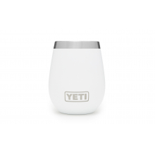 Rambler 10oz Wine Tumbler White by YETI in Columbiana OH