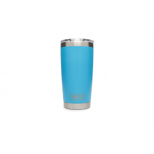 YETI Rambler Tumbler with Lid - 20 oz - Reef Blue by YETI in Roseville Ca