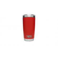YETI Rambler Tumbler with Lid - 20 oz - Canyon Red by YETI in Roseville Ca