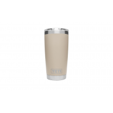 Rambler Tumbler with Lid - 20 oz - Sand by YETI in St Ignace MI