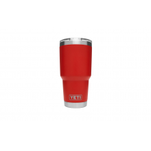 YETI Rambler Tumbler with Lid - 30 oz - Canyon Red by YETI in Solana Beach Ca