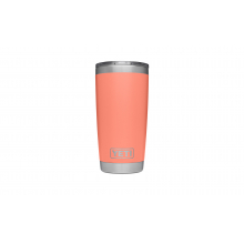 Rambler 20 Oz Tumbler - Coral by YETI in Grand Blanc MI
