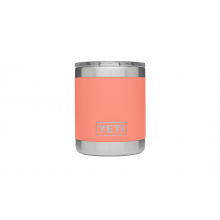 Rambler 10 Oz Lowball - Coral by YETI in Grand Blanc MI