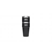 Black Rambler Pint Glasses 16 oz 2 Pack by YETI