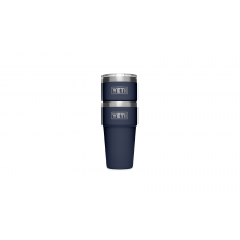 Navy Rambler Pint Glasses 16 oz 2 Pack by YETI