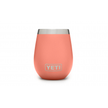 Rambler 10 Oz Wine Tumbler - Coral by YETI in Boulder CO