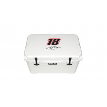 Kyle Busch Coolers - White - Tundra 45 by YETI