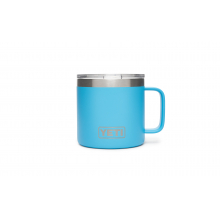 Rambler 14 Oz Mug - Reef Blue