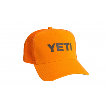 Blaze Orange Deep-Fit Foam Trucker Hat - Orange