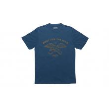 YETI Drawn Wild T-Shirt - Denim - S by YETI