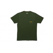 Fish Pocket T-Shirt - Black Forest - M