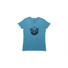 YETI Den Dweller Women's T-Shirt - Niagara Blue - XS