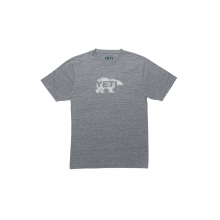 Salmon On The Fly T-Shirt - Heather Gray - XL